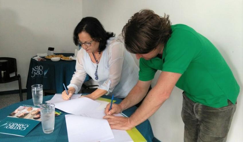 Convenio de Cooperación Académica Escuela de la Tierra-Longo Mai Costa Rica y la Universidad Castro Carazo