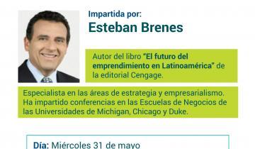 """Conferencia """"El futuro del emprendimiento en Latinoamérica""""."""