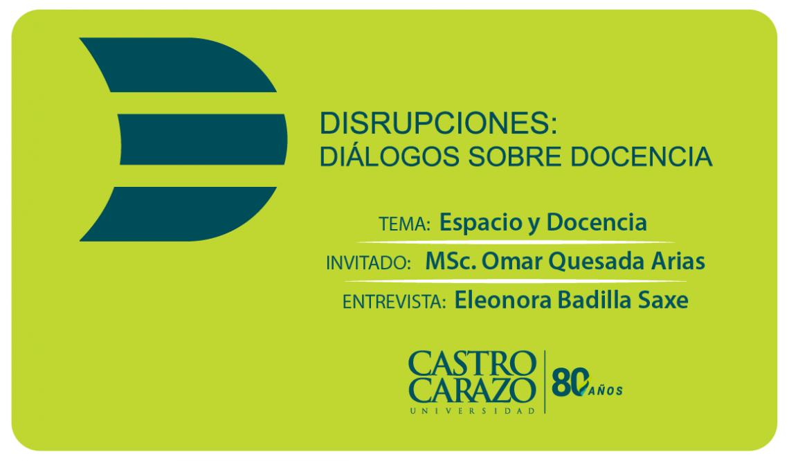 Disrupciones_Espacio y Docencia