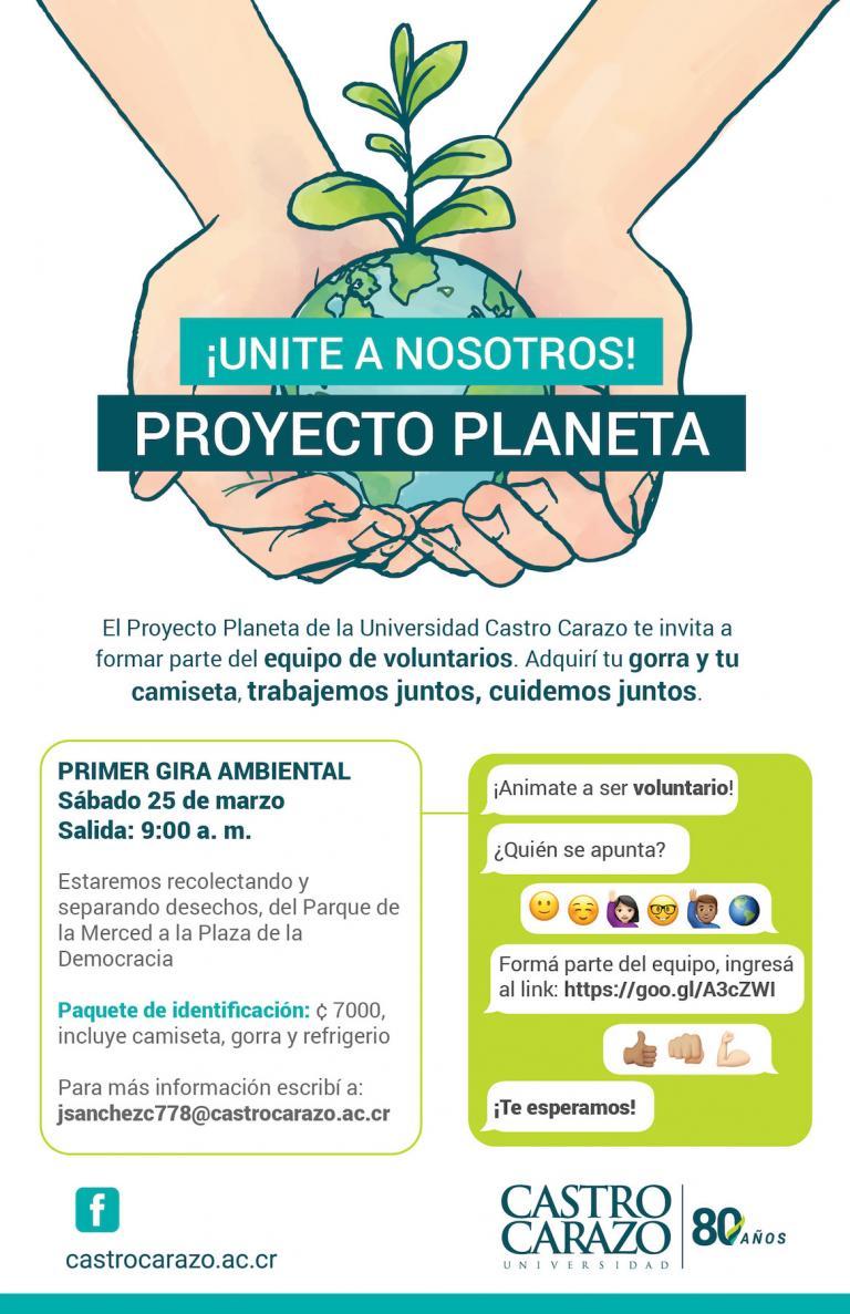 Gira Proyecto Planeta