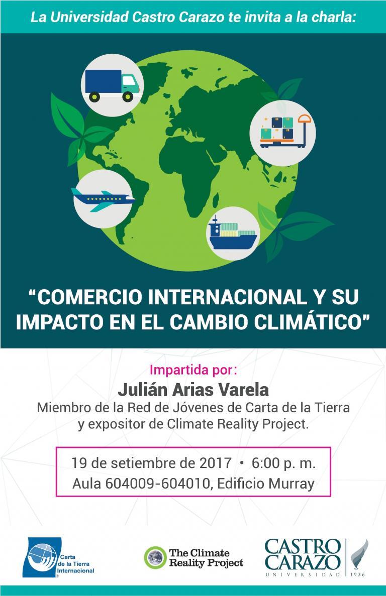 Comercio Internacional y su impacto climático