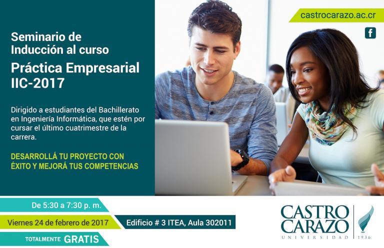 Seminario de inducción a la Práctica Empresarial- IIC2017