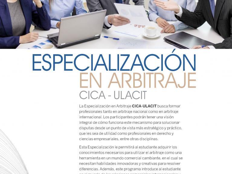 Especialización Arbitraje